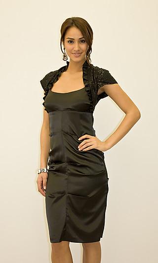 Платье футляр фасоны с рукавами