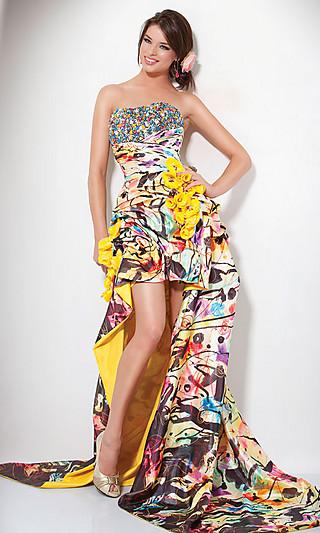 Платья на выпускной 2011 фото