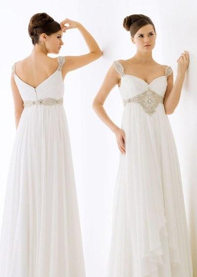 Греческое свадебное платье 2011
