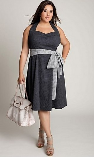 Модные платья для полных 2012 - Стиль & Мода.