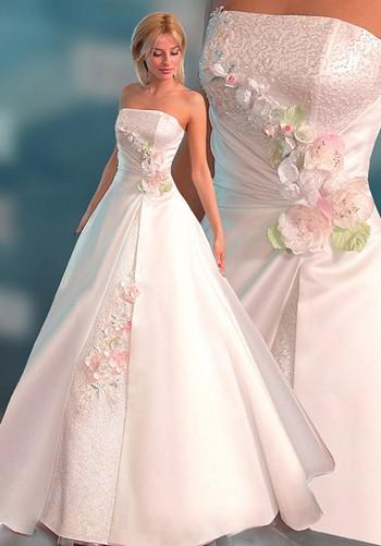 """Свадебное платье для фигуры """"груша"""""""