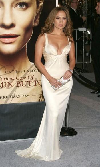 Дженнифер Лопес в платье Roberto Cavalli