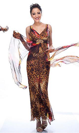 Длинные платья весна-лето 2011