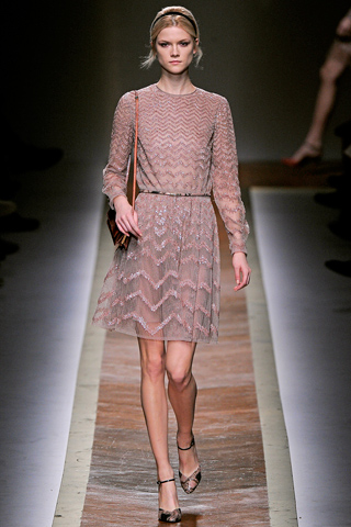 Valentino платья осень зима 2011-2012