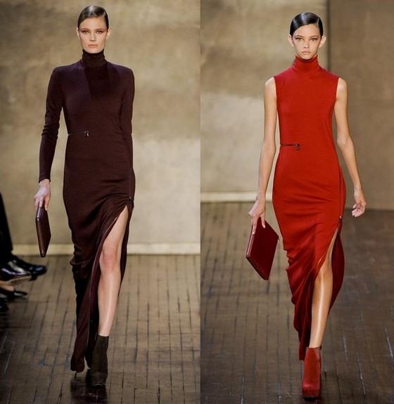 Длинные платья Осень-Зима 2011-2012 от Akris