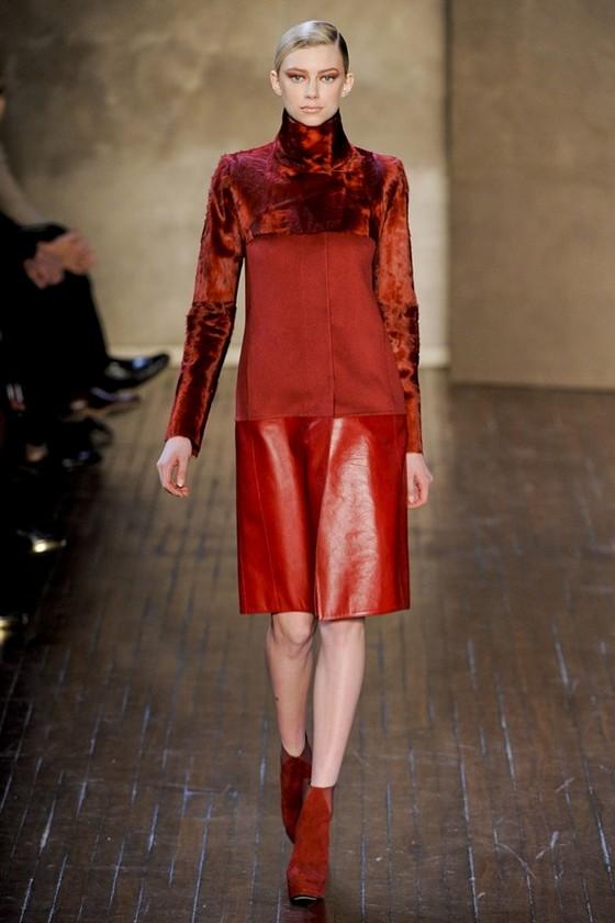 Платье Akris из коллекции Осень-Зима 2011-2012