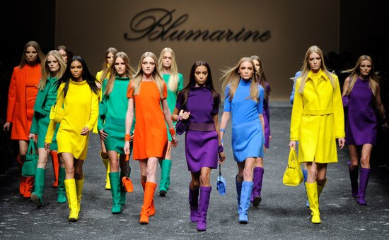 Blumarine - коллекция осень-зима 2011-2012