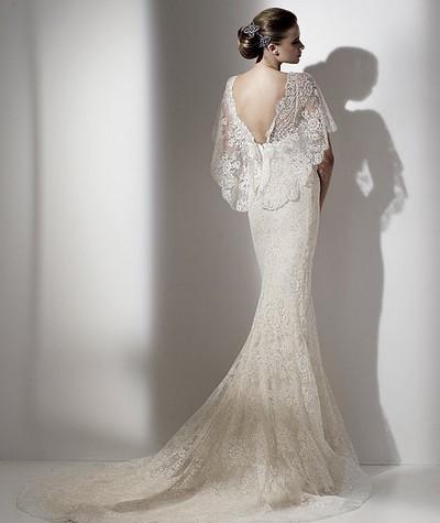 Свадебное платье русалка elie saab из