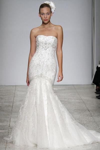 Свадебное платье из кружева Kenneth Pool