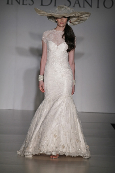 Свадебное платье из кружева Ines Di Santo