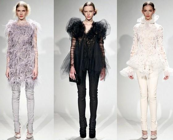 Платья с брюками, Маркиза Осень-Зима 2011-2012