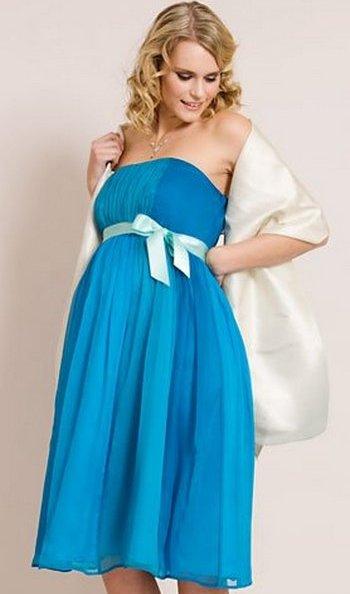 Короткие платья для беременных