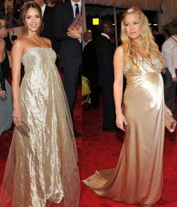 Беременные знаменитости 2011 - Джессика Альба и Кейт Хадсон