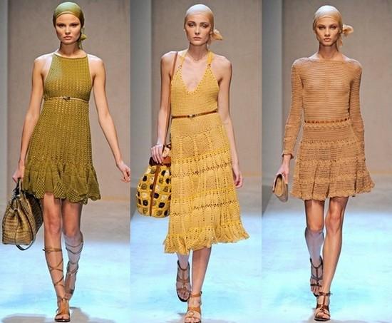 Вязаные летние платья 2011 Salvatore Ferragamo