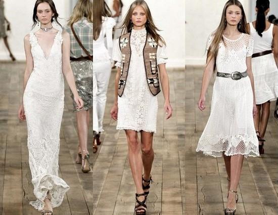 Вязаные летние платья 2011 Ralph Lauren