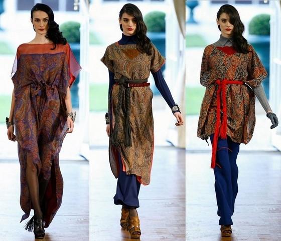 Богемный стиль одежды - платья-туники от Алексиса Мебайла