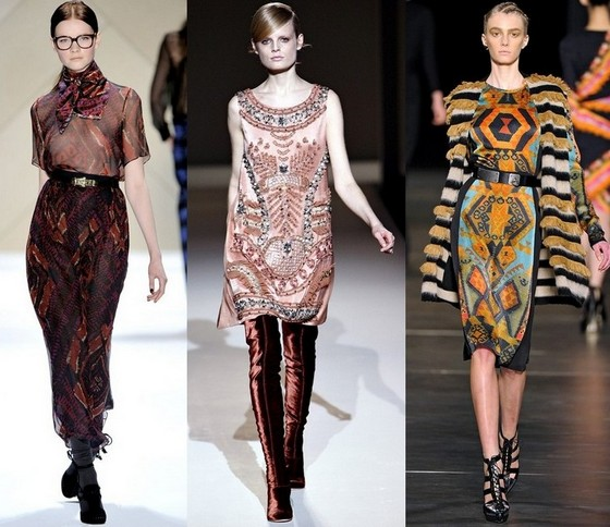 Богемные платья от Adam, Alberta Ferretti, Etro