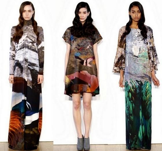 Платья Basso & Brooke Осень-Зима 2011-2012
