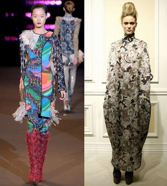 Платья-туники в богемном стиле
