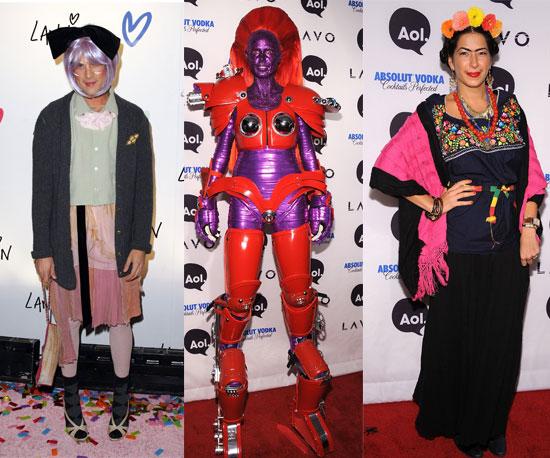 Знаменитости в платьях на Хэллоуин