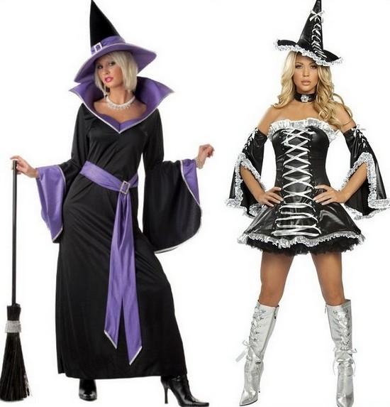 Костюм колдуньи на Хэллоуин