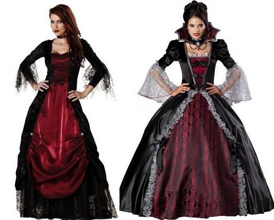 Платье для свадьбы в стиле Хэллоуин