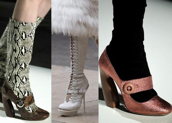 Модная обувь осень 2011