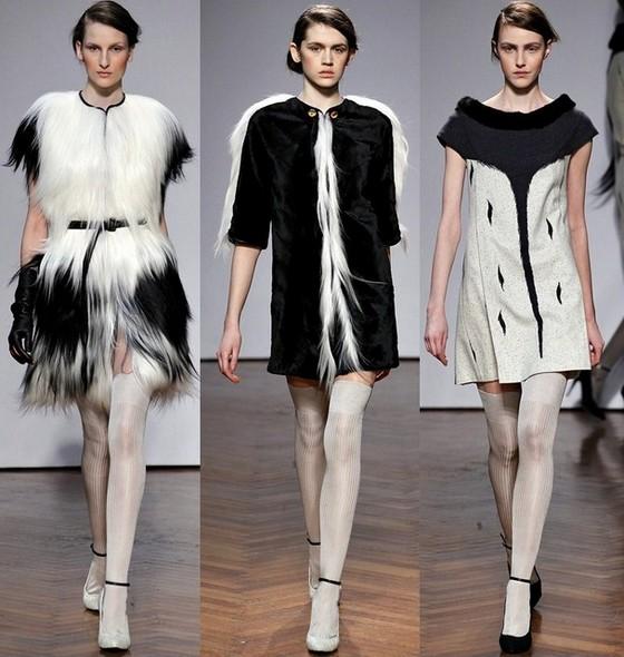 Платья осень 2011