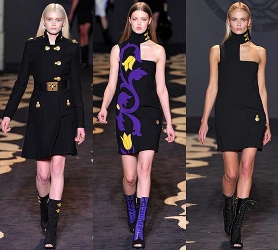 Платья от Версаче (Versace) - коллекция Осень-Зима 2011-2012 ...