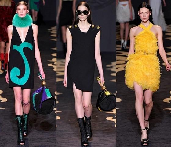 Коллекция платьев Версаче Осень-Зима 2011-2012