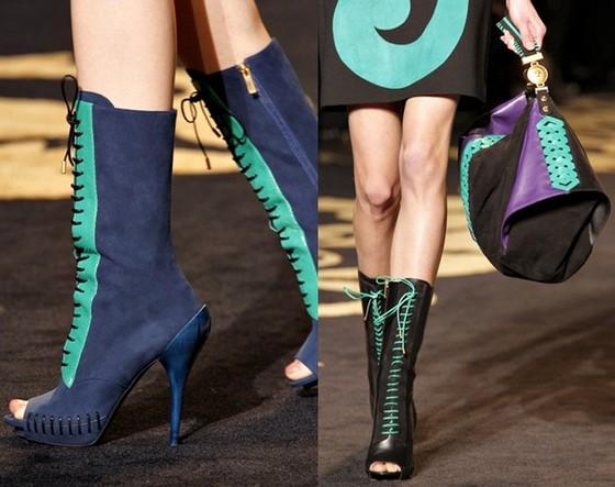 Versace - обувь к платьям