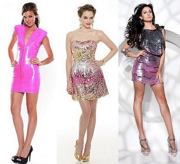 Розовые платья клубные