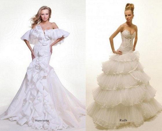 Свадебные платья русалка - Оксана Муха