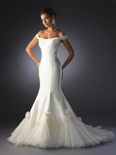 Свадебные платья фасон русалка
