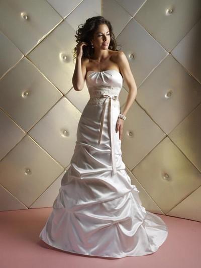 Свадебные платья в стиле русалка фото