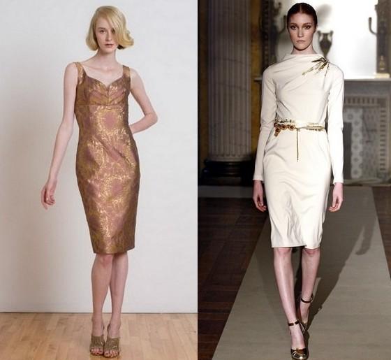 Винтажные платья Barbara Tfank и Luisa Beccaria