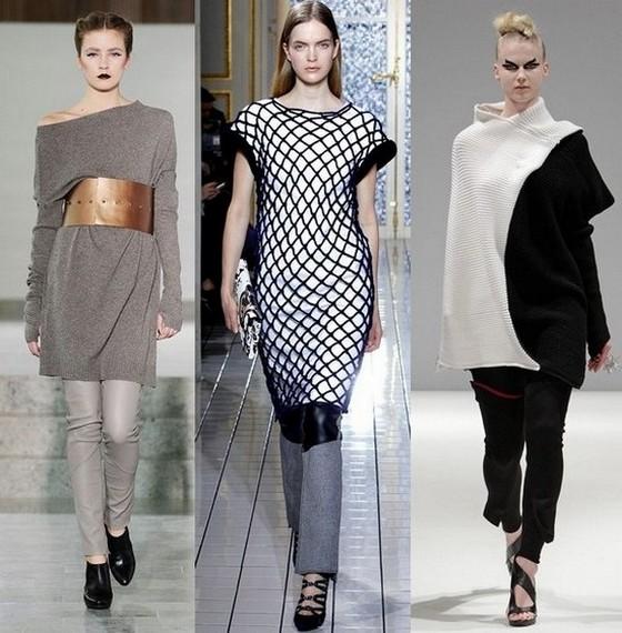 Вязаные платья 2011-2012