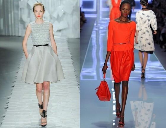 вечерние короткие платья фотографии 2012 известных брендов