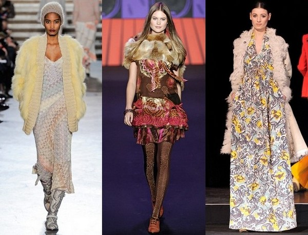 Аксессуары к платьям-хиппи от Missoni, Anna Sui, Paul & Joe