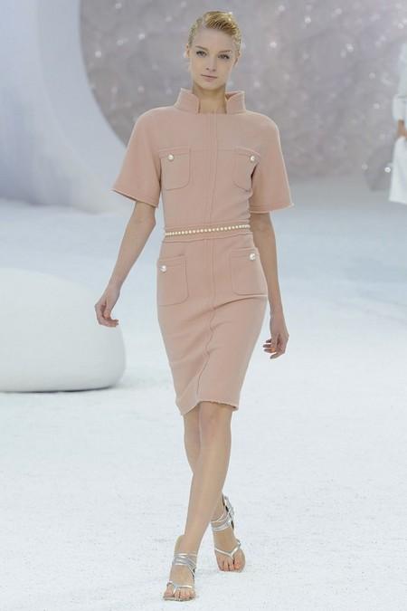 Платье от Шанель, весна-лето 2012