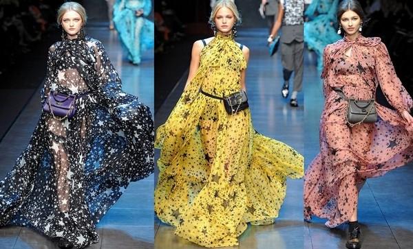 Длинные платья Dolce&Gabbana