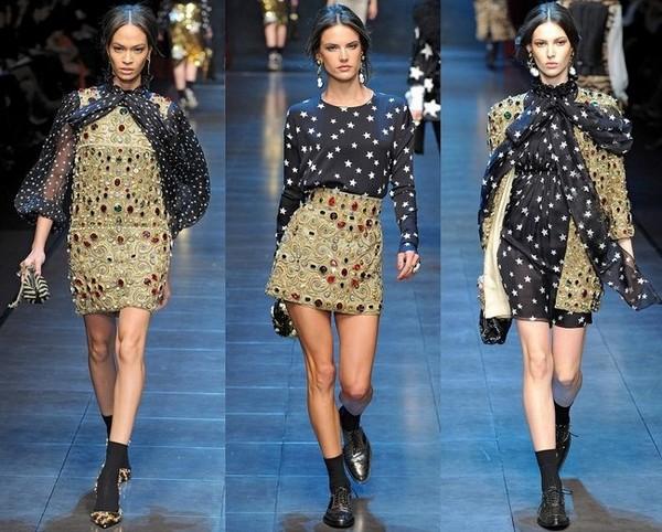 Модные платья от Дольче Габбана