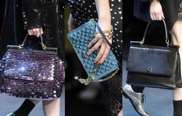 Сумочки D&G - аксессуары к платьям