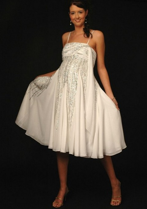 Короткое свадебное платье для беременных фото