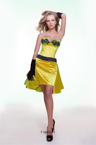Вечерние платья Оксаны Мухи 2011 фото