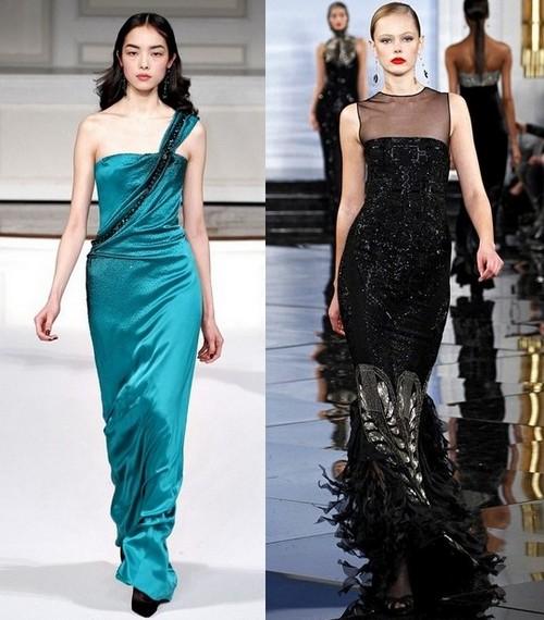 Новогодние платья 2012 от Oscar de la Renta и Ralph Lauren