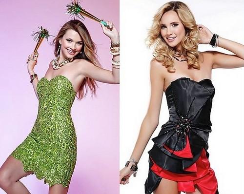 Новогодние платья 2012 для Скорпиона