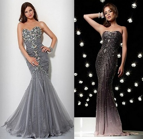 Новогодние платья 2012 для женщины-Стрельца