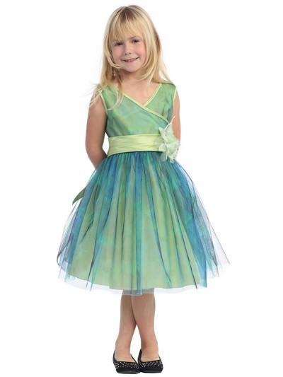Новогоднее платье 2012 для девочки