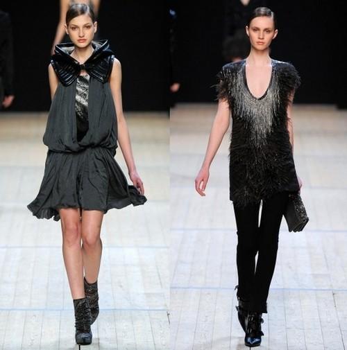 Модные платья на зиму 2012, Barbara Bui